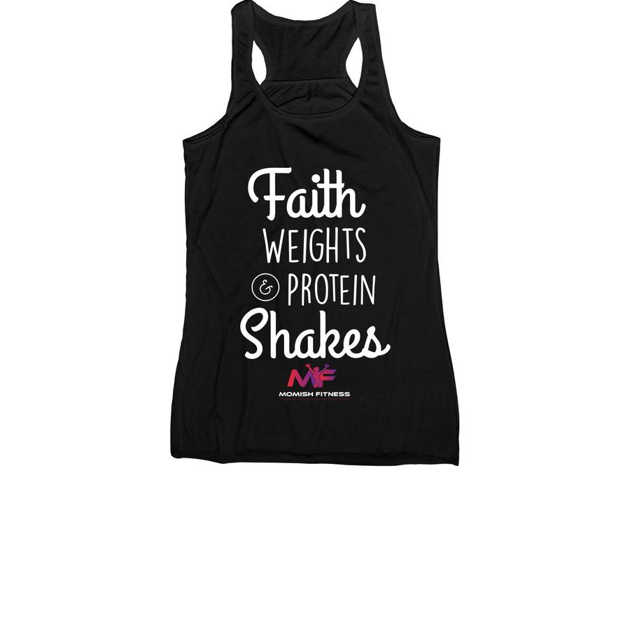 Faith Weights Protein Shakes Bonfire