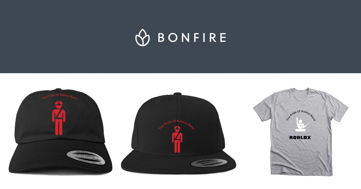 The Pride Of Roblox Band Official Merchandise Bonfire